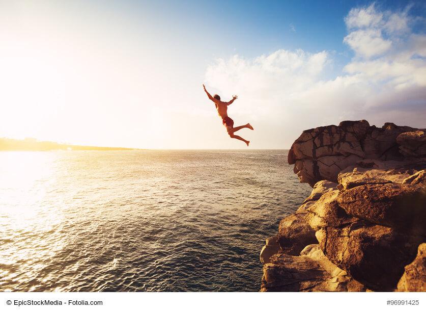 Kopfsprung ins Unangenehme: Wie Sie große Ziele erreichen