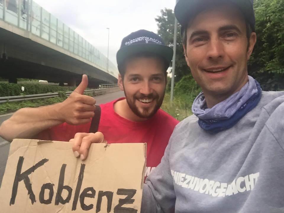 Ein Abenteuer: Trampen durch Deutschland ohne Geld